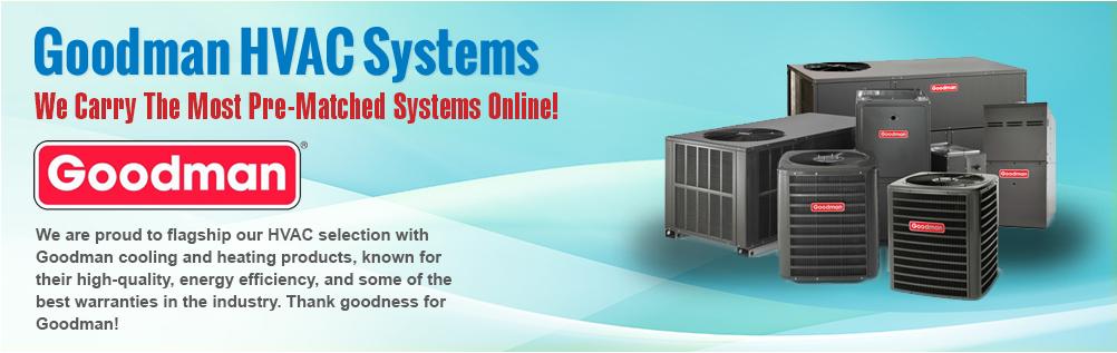 Goodman AC | Split Systems | Heat Pumps | Condensers