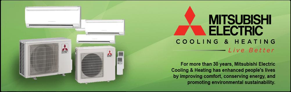 Mitsubishi Mini Splits | Air Conditioning | Ductless Heat Pump | Mr. Slim