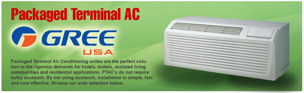 Packaged Terminal Air Conditioners   PTAC Units   Gree   ETAC