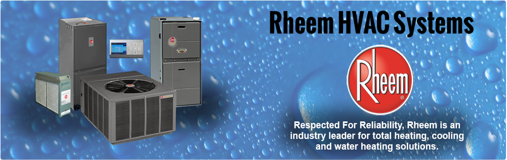 Rheem AC | Systems | Heat Pumps | Condensers | Package Units