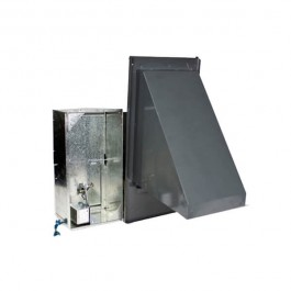 25% Manual Fresh Air Damper 7 5 - 12 5 Ton Daikin / Goodman Commercial  Package Units