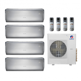 36,000 Btu 21 Seer Gree 4-Zone Ductless Mini Split Heat Pump System -  9K-9K-9K-9K
