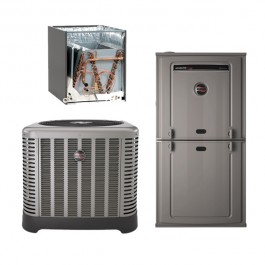 2.5 Ton Goodman 14 SEER R410A 80/% AFUE 60,000 BTU Downflow Gas Furnace Split System Yes, add one to my order