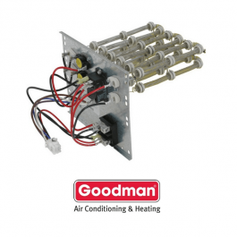 goodman_heat_kit_11 hkr 10c 10 kw goodman electric strip heat with circuit breaker goodman 10kw heat strip wiring diagram at alyssarenee.co