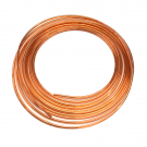 Non-Insulated Flexible Copper Line (3/8 x 50 ft)
