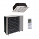 24,000 Btu 14 Seer Carrier Single Zone Ductless Cassette Mini Split Air Conditioning System