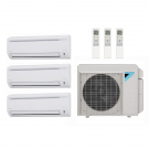 23,000 Btu 17.7 Seer Daikin Multi Zone Ductless Mini Split Heat Pump System - 7K-7K-9K