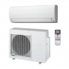 12,000 Btu 16 Seer Fujitsu Single Zone Ductless Mini Split Heat Pump System (115V)
