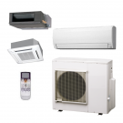 45,000 Btu Fujitsu Multi Zone Ductless Mini Split Heat Pump System