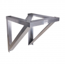 Aluminum Condensing Unit Wall Bracket (24 Inch)