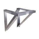 Aluminum Condensing Unit Wall Bracket (24 Inch)