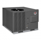 2.5 Ton 15 Seer Rheem / Ruud 80,000 Btu 81% Afue Gas Package Air Conditioner