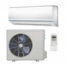 12,000 Btu 17 Seer Carrier Single Zone Ductless Mini Split Air Conditioning System