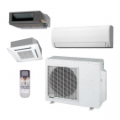 36,000 Btu Fujitsu 4-Zone Ductless Mini Split Heat Pump System