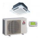 12,000 Btu 15.40 Seer Mitsubishi Single Zone Ductless Mini Split Heat Pump System