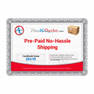 Prepaid No-Hassle Shipping ($300 and Up)
