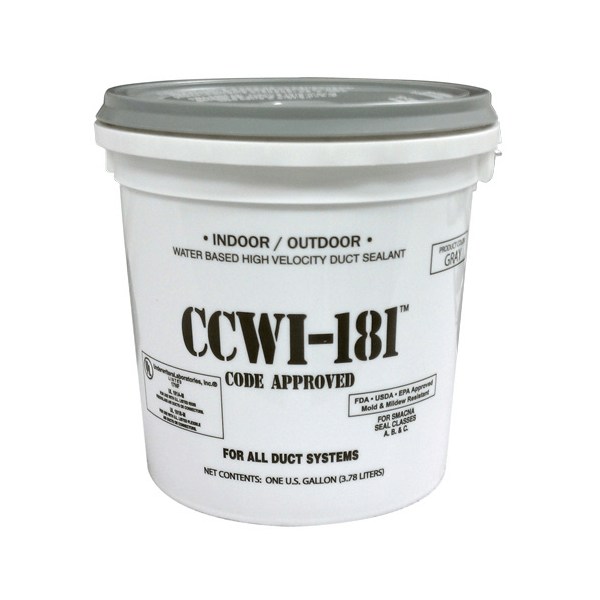 1 Gallon Bucket of Mastic - CCW-181 - White