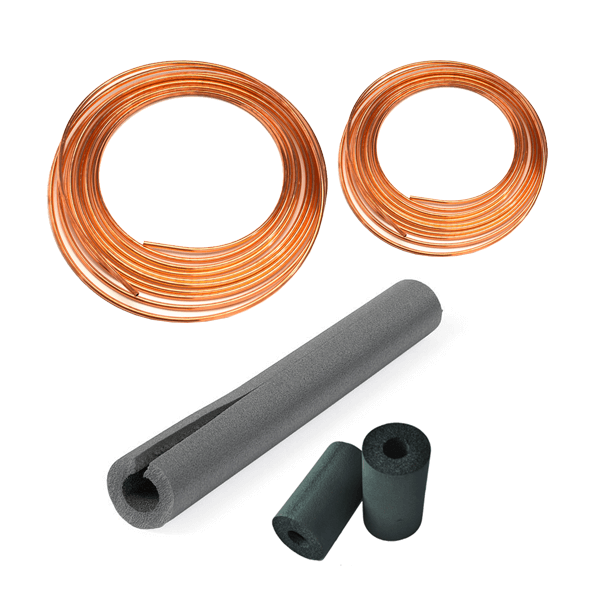 3 Ton - 5 Ton Copper Line Set (3/8 x 1 1/8 x 50 ft)