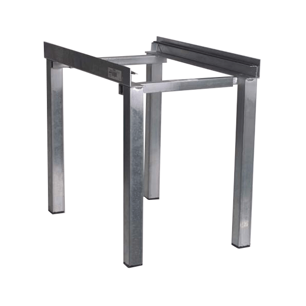 Adjustable Metal Air Handler Stand (18 Inch)